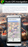 Screenshot of Truck GPS Navigation by Aponia