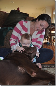 weekend at gigi's leighton 6 months almost crawling 011913 (23)