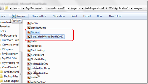 Multiple file upload ASP.NET 4.5 and Visual Studio 2012