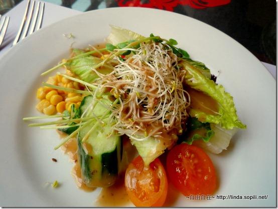 沙拉-和風醬 (另有千島醬/油醋醬)