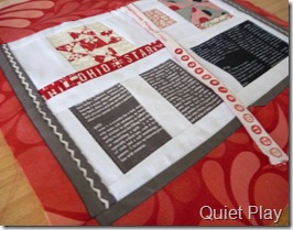 Quilter's bible overview