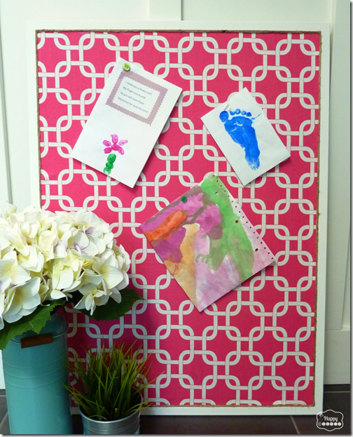 Organize-with-Fabric-Covered-bulletin-board-at-thehappyhousie-829x1024