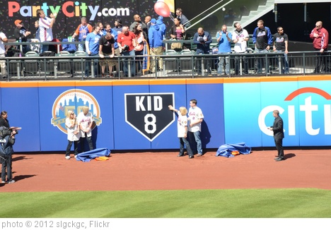 'Unveiling of Gary Carter Outfield Tribute by the Carter Family' photo (c) 2012, slgckgc - license: http://creativecommons.org/licenses/by/2.0/