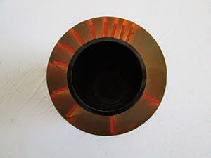Enzo Mari Danese vase or desk accessory top