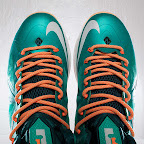 nike lebron 10 gr miami dolphins 3 11 Gallery: Nike LeBron X Miami Setting or Dolphins if you Like