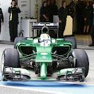Caterham CT05 F1 car launch pictures