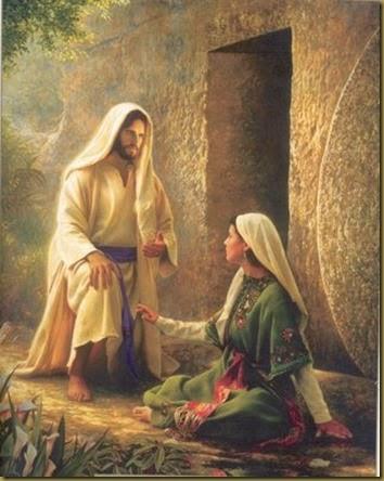 MAGDALENA Y JESUS