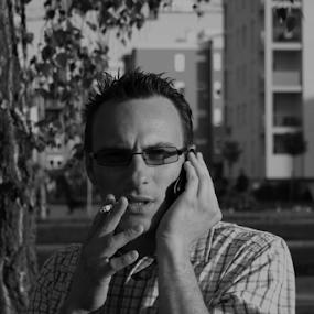Take a break by Tomislav Šestak - People Portraits of Men (  )