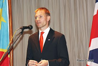 Neil Wigan, ambassadeur de Grande Bretagne en RDC, ce 18/06/2010  Kinshasa. Photo: British Embassy Kinshasa (Flickr)