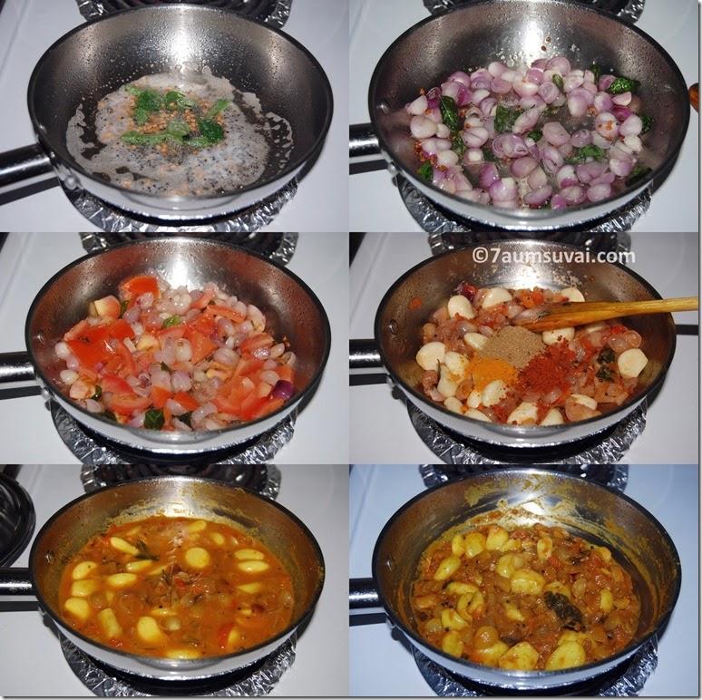 Garlic onion gravy