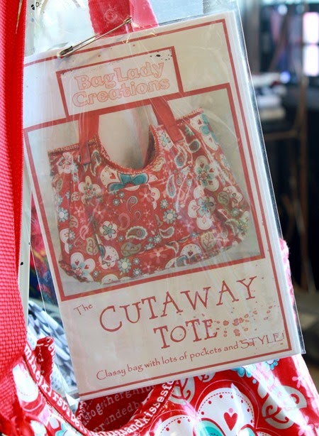 The Cutaway Tote Pattern