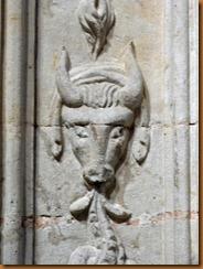 Salamanca  bulls head N