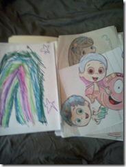 kids art folder