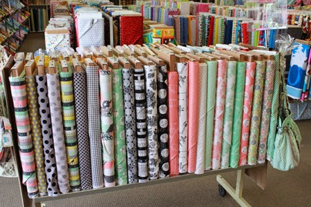 Sew Charming fabrics at The Fabric Mill