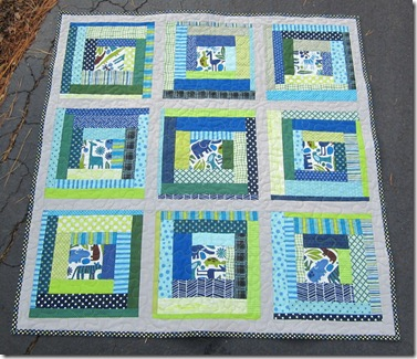 busy bee quilts: Another log cabin quilt! : log cabin baby quilt pattern - Adamdwight.com