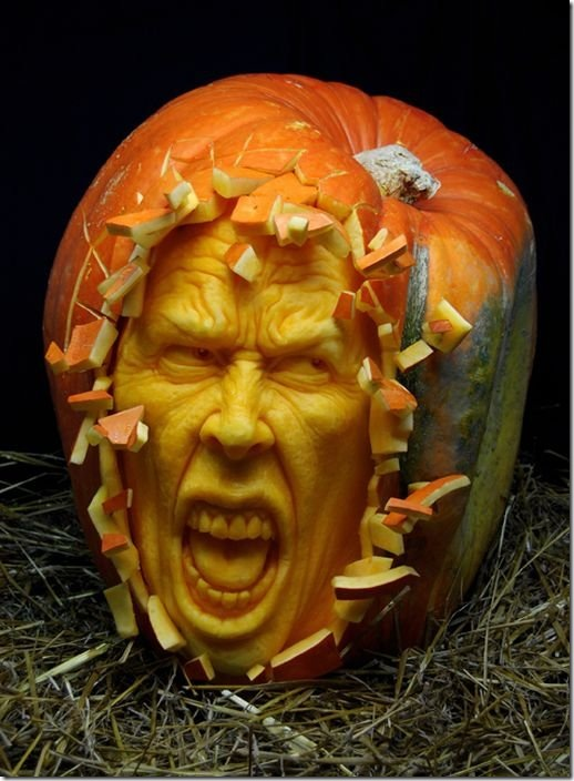 awesome pumpkin carving 23