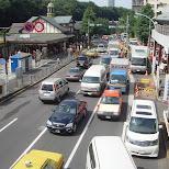 harajuku crossing in Tokyo, Tokyo, Japan