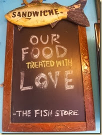Fish Store Sign