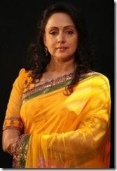 Hema Malini in yellow saree