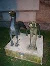 Esculturas Perros
