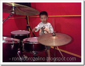 Violino Ridho Putra Kembali Berlatih Drum di JM 83 STUDIO (1)