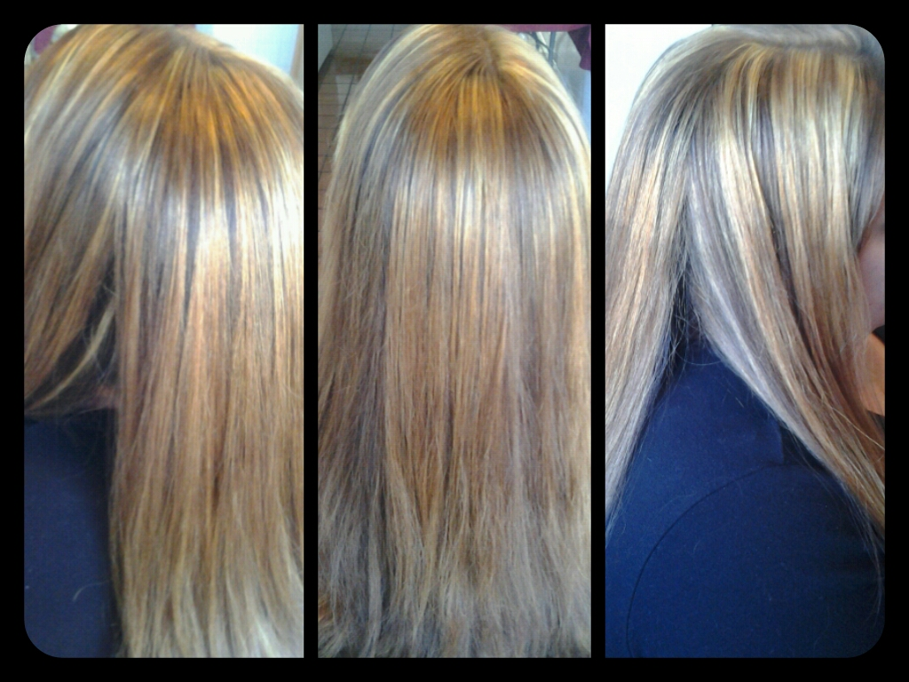 Healthy Hair Is Beautiful Hair Light Golden Blonde With Highlights