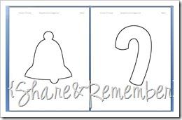 five senses christmas printable booklet