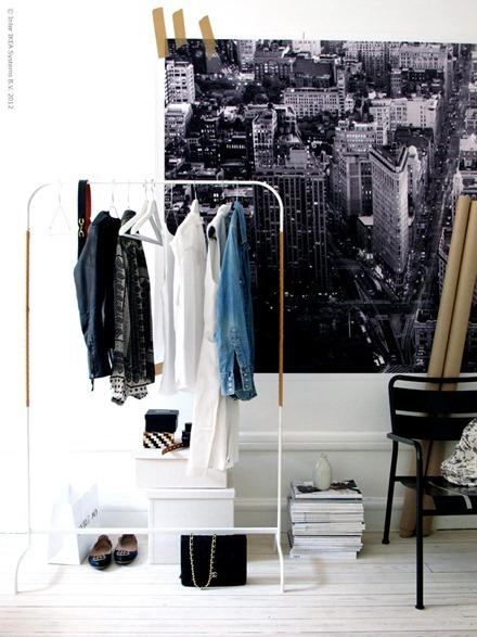 Klädställning, IKEA Livet Hemma