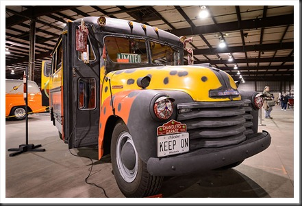 "Steve and Anne Chandler's 1951 Chevy ""Boogie"" Bus"