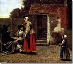 Pieter-De-Hooch-A-Dutch-Courtyard-detail-2-