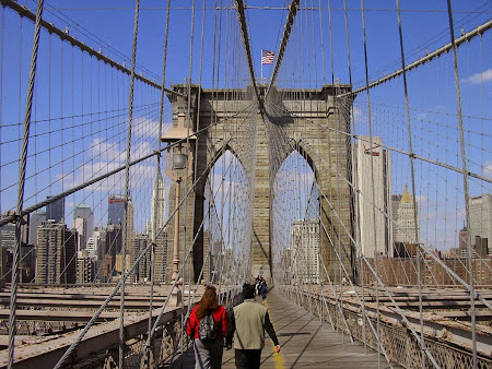 Obiective turistice New York: Podul Brooklyn