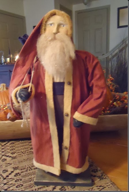 Santa for customer