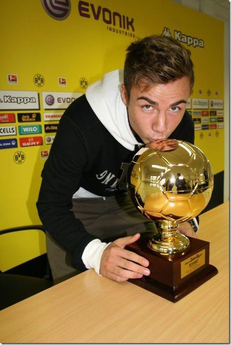mario götze golden boy 2011