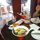 Ryoji Ramen with Paul in Toronto, Ontario, Canada
