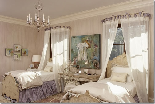 shabby-chic-purple-pink-chandelier-bedroom-distressed-furniture-sanded-down-romantic-interior-decor-better-decorating-bible-blog