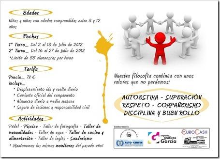 Campamento de Verano 2012 en La Dehesa Centro Deportivo: abierta la inscripción.