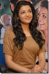 Kajal Agarwal Latest Stills At Nayak Press Meet