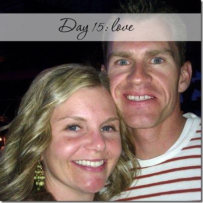Day 15 love