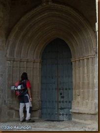 Portada gótica de la iglesia de Reta - Valle de Itzagaondoa