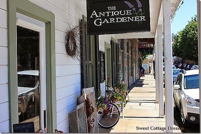 antique gardner store front