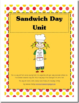 Sandwich Day Unit Coverpage