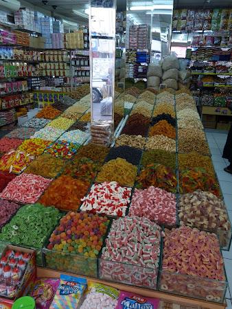 Obiective turisitice Dubai: magazin dulciuri Deira