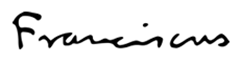 Francisco - Assinatura