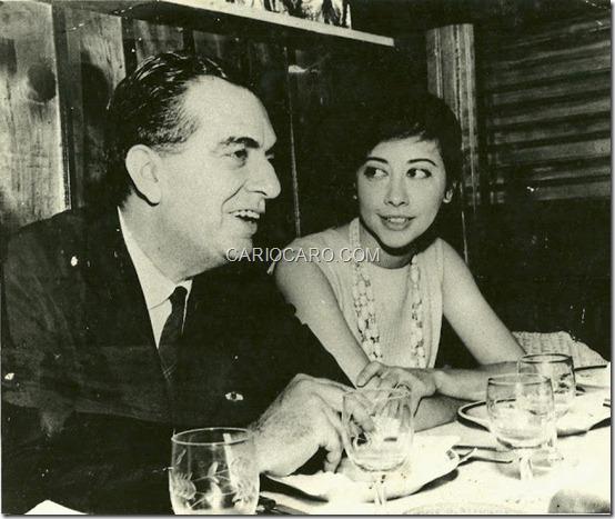 Nelson Rodrigues e Fernanda Montenegro