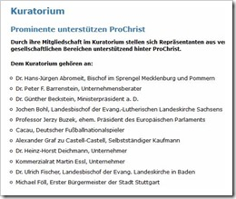 Kuratorium ProChrist