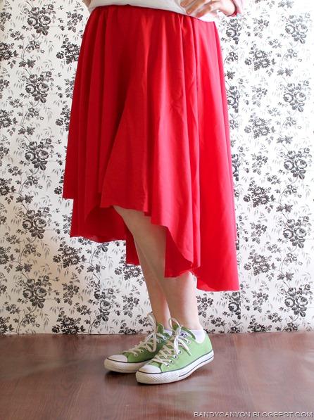 asymmetrical skirt3