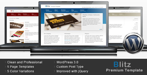 Blitz - Premium Business WordPress Theme - Business Corporate