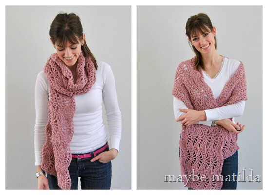 Lacy Spring Wrap by Maybe Matilda