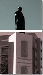 Arriba estátua - ainda mais alto. Ago.2013