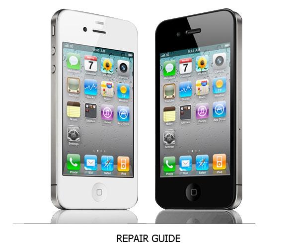 Cara Bongkar Apple iPhone 4